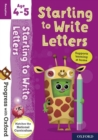 Progress with Oxford: Starting to Write Letters Age 4-5 - Book