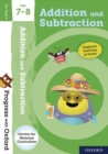 Progress with Oxford: Addition and Subtraction Age 7-8 - Book