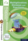 Progress with Oxford: Multiplication, Division and Fractions Age 7-8 - Book