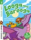 Read with Oxford: Stage 4: Comic Books: Looga and Barooga - Book
