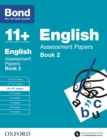 Bond 11+: Bond 11+ English Assessment Papers 10-11 Book 2 - eBook