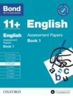 Bond 11+: English Assessment Papers Book 1 9-10 Years - eBook