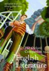 The Oxford Companion to English Literature - Book