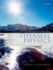 An Introduction to Thermal Physics - Book