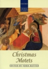 Christmas Motets - Book