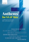 Anthems for SA and Men - Book