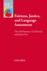 FAIRNESS, JUSTICE & LANGUAGE ASSESSMENT - eBook