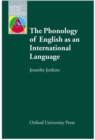 The Phonology of English as an International Language - Book