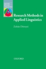 Research Methods in Applied Linguistics : Quantitative, Qualitative, and Mixed Methodologies - Book