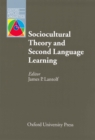 Sociocultural Theory Second Language Learning - Oxford Applied Linguistics - eBook