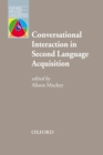 Conversational Interaction in Second Language Acquisition - Oxford Applied Linguistics - eBook