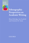 Ethnographic Perspectives on Academic Writing - eBook