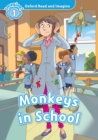 Monkeys in School (Oxford Read and Imagine Level 1) - eBook