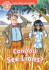Can You See Lions? (Oxford Read and Imagine Level 2) - eBook
