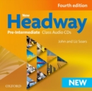 New Headway: Pre-Intermediate A2-B1: Class Audio CDs : The world's most trusted English course - Book