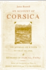 An Account of Corsica, the Journal of a Tour to That Island; and Memoirs of Pascal Paoli - eBook