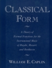Classical Form : A Theory of Formal Functions for the Instrumental Music of Haydn, Mozart, and Beethoven - eBook