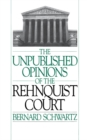 The Unpublished Opinions of the Rehnquist Court - eBook