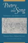 Poetry into Song : Performance and Analysis of Lieder - eBook