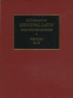 Dictionary of Medieval Latin from British Sources - Book