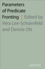 Parameters of Predicate Fronting - Book