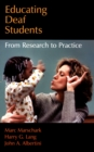 Educating Deaf Students : From Research to Practice - eBook