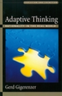 Adaptive Thinking : Rationality in the Real World - eBook