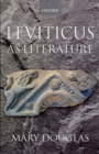Leviticus as Literature - Book