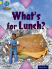 Project X Origins: Yellow Book Band, Oxford Level 3: Food: What's for Lunch? - Book