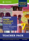 Complete English as a Second Language for Cambridge Lower Secondary Teacher Pack 7 - Book
