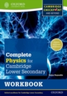 Complete Physics for Cambridge Lower Secondary Workbook : For Cambridge Checkpoint and beyond - Book