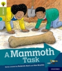 Oxford Reading Tree Explore with Biff, Chip and Kipper: Oxford Level 7: A Mammoth Task - Book