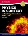 Physics in Context for Cambridge International AS & A Level - Book
