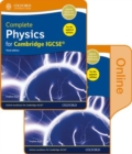Complete Physics for Cambridge IGCSE (R) Print and Online Student Book Pack - Book