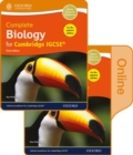 Complete Biology for Cambridge IGCSE (R) Print and Online Student Book Pack - Book