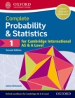 Complete Probability & Statistics 1 for Cambridge International AS & A Level - Book