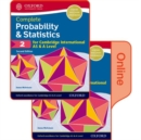 Probability & Statistics 2 for Cambridge International AS & A Level : Print & Online Student Book Pack - Book