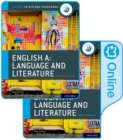 IB English A: Language and Literature Print and Online Course Book Pack - Book