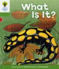 Oxford Reading Tree: Level 2: More Patterned Stories A: What Is It? - Book