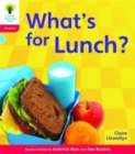 Oxford Reading Tree: Level 4: Floppy's Phonics Non-Fiction: What's for Lunch? - Book
