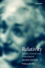 Relativity : Special, General, and Cosmological - Book