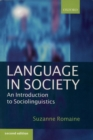 Language in Society : An Introduction to Sociolinguistics - Book
