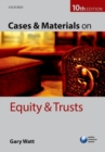 Cases & Materials on Equity & Trusts - Book