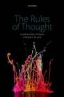 The Rules of Thought - Book