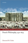 French Philosophy, 1572-1675 - Book