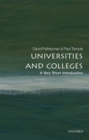 Universities and Colleges: A Very Short Introduction - Book