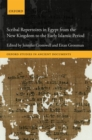 Scribal Repertoires in Egypt from the New Kingdom to the Early Islamic Period - Book