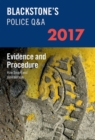 Blackstone's Police Q&A: Evidence and Procedure 2017 - Book