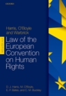 Harris, O'Boyle, and Warbrick: Law of the European Convention on Human Rights - Book
