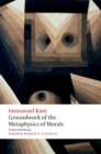 Groundwork for the Metaphysics of Morals - Book